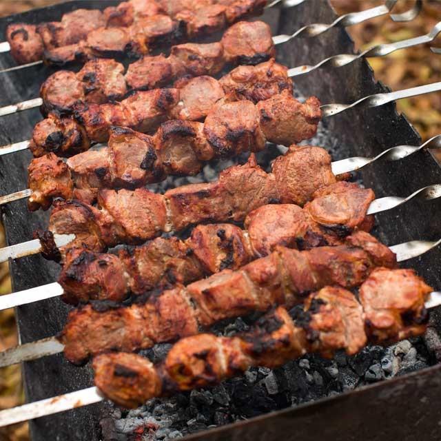 Marinated Achari Kabab